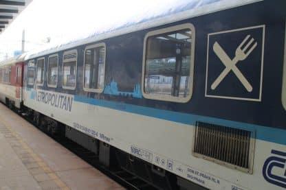 Bratislava to Budapest Train - First Class Flexible