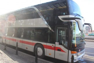 IC Bus at Prague Station